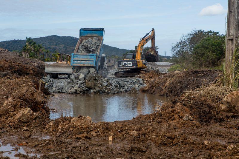 Já a obra do novo Acesso ao Sul da Ilha tem previsão para ser concluída até março de 2020. - Flavio Tin/ND