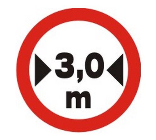 Largura máxima permitida - Foto: Reprodução - Foto: Reprodução/Garagem 360/ND