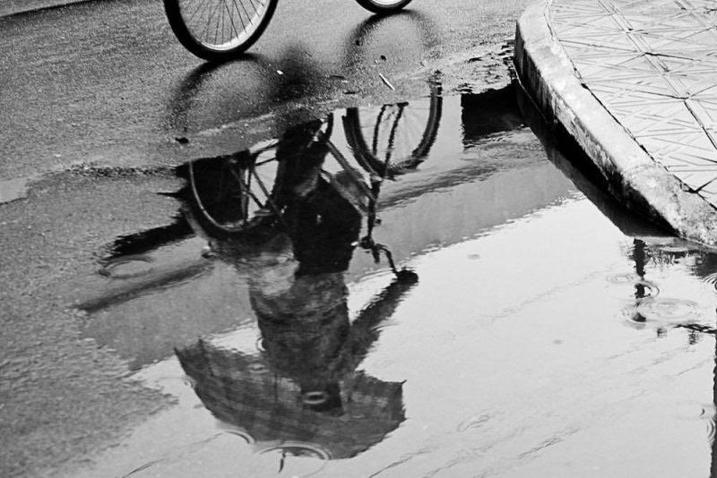 A poesia de uma foto para registrar o clima, feita em Tijucas - Flávio Tin/ND