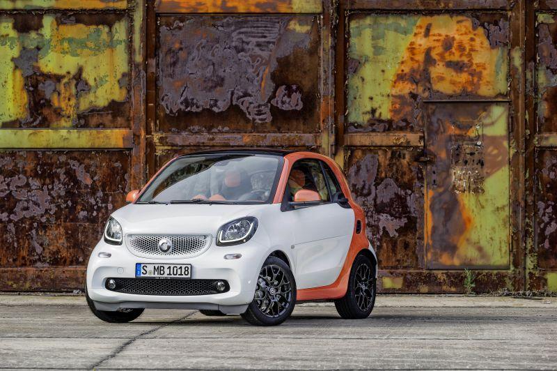 A Smart também faz parte do grupo Daimler - Foto: Divulgação - Foto: Divulgação/Garagem 360/ND