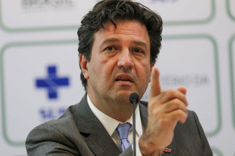 O ministro da Saúde, Luiz Henrique Mandetta, anuncia, nova formulação de medicamento para tratamento da tuberculose para crianças – Foto: Fabio Rodrigues Pozzebom/Agência Brasil/Divulgação/ND