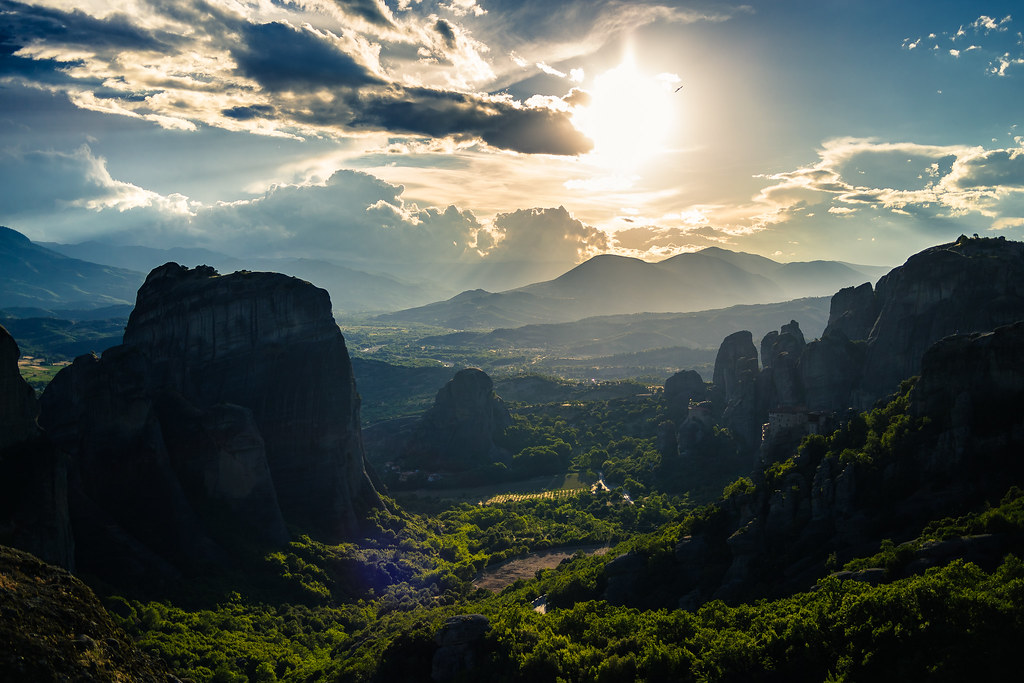 Meteora – Grécia - Kacper Gunia on Visual hunt / CC BY-NC - Kacper Gunia on Visual hunt / CC BY-NC /Rota de Férias/ND