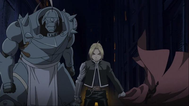 Melhores animes, de acordo com o IMDb. 1. Fullmetal Alchemist: Brotherhood (2009-2012) – Nota 9,1 - Crédito: Divulgação/33Giga/ND