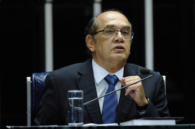 """""""É algo absolutamente regular, não temos dúvida disso"""", afirmou Gilmar Mendes sobre inquérito das fake news – Foto: Pedro França/Agência Senado"""