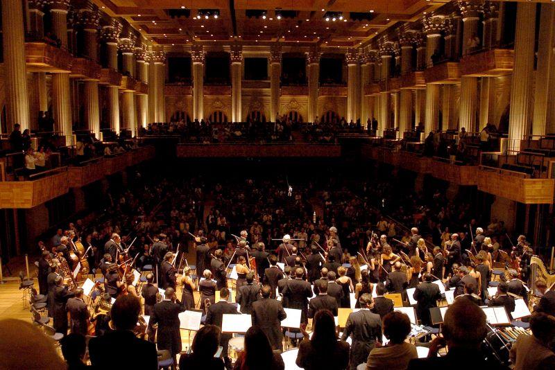 Além de ser lindíssima, a Sala São Paulo recebe concertos nacionais e internacionais. É um dos edifícios com melhor acústica do Brasil - Rubens Chiri/SPTuris - Rubens Chiri/SPTuris/Rota de Férias/ND