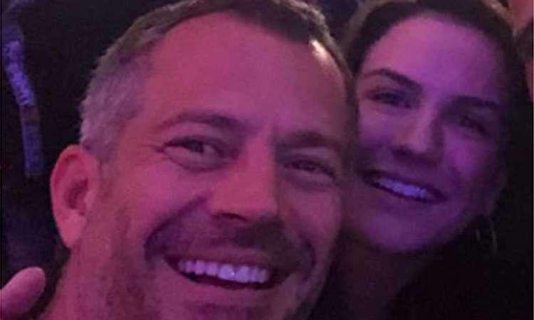 Ator Mavilno Salvador foi ao Rock in Rio acompanhado da esposa, a lutadora Kyra Gracie – Reprodução/Instagram