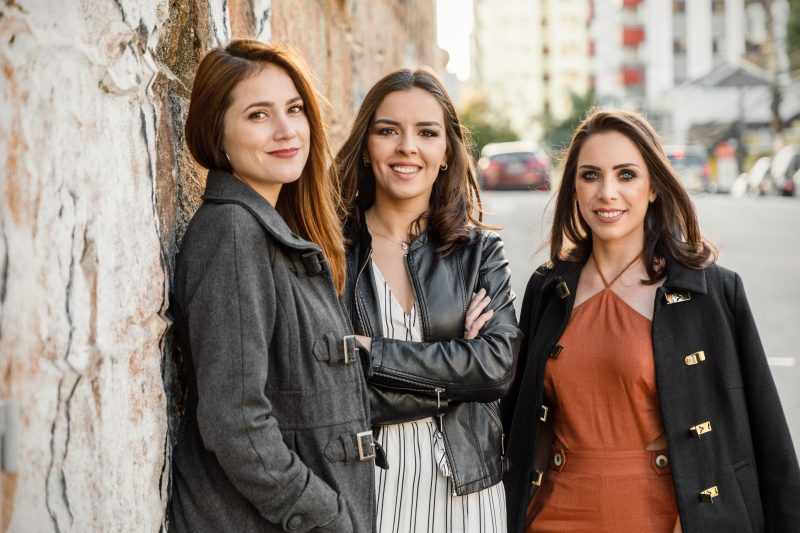 Julia, Aline e Natália – Rafael Ribeiro/ND