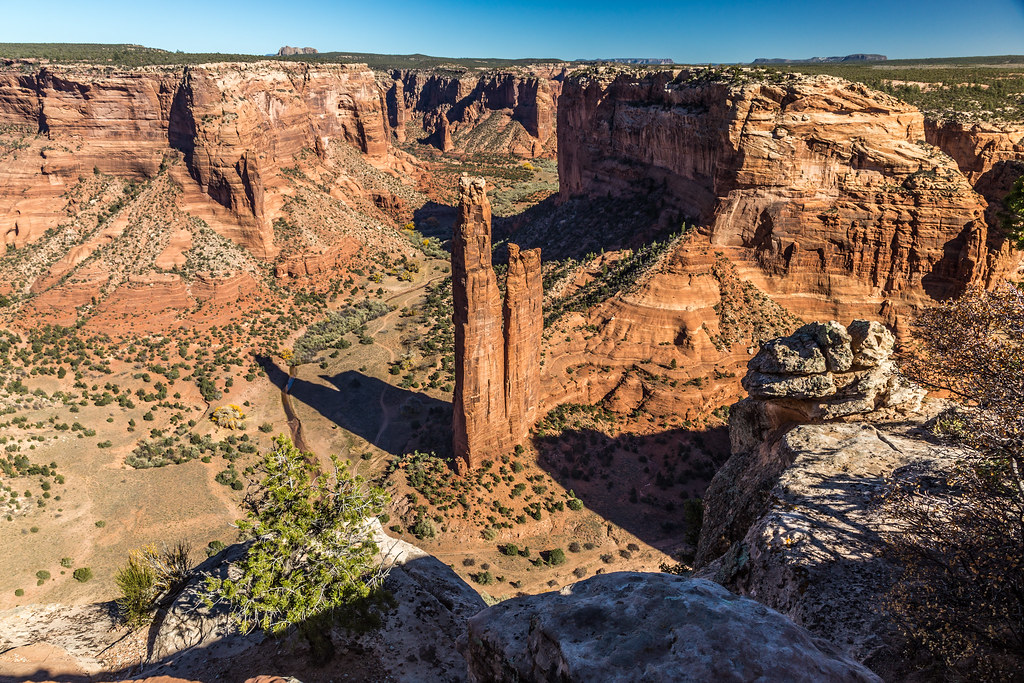 Spider Rock – EUA - Fred Moore 1947 on Visual Hunt / CC BY-NC - Fred Moore 1947 on Visual Hunt / CC BY-NC /Rota de Férias/ND