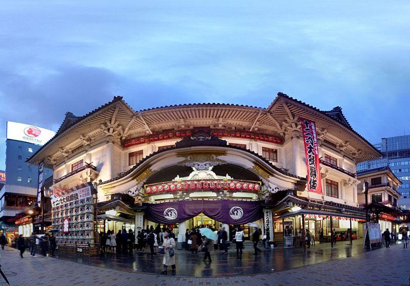 O Kabukiza é o teatro mais tradicional da capital japonesa - tenugui via Visual hunt / CC BY-NC-ND - tenugui via Visual hunt / CC BY-NC-ND/Rota de Férias/ND