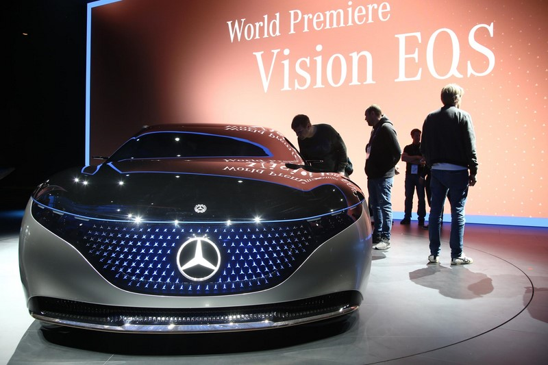 Mercedes-Benz Vision EQS - Foto: Divulgação/Newspress - Foto: Divulgação/Newspress/Garagem 360/ND