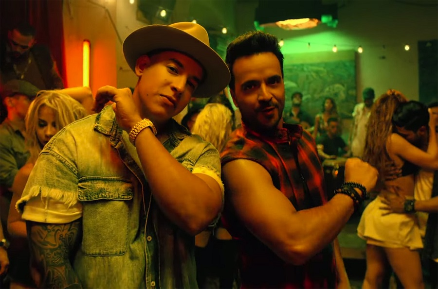 5. Luis Fonsi feat. Daddy Yankee – Despacito (http://bit.ly/2u1GDfi): 4,2 milhões de dislikes - Crédito: Reprodução YouTube/33Giga/ND