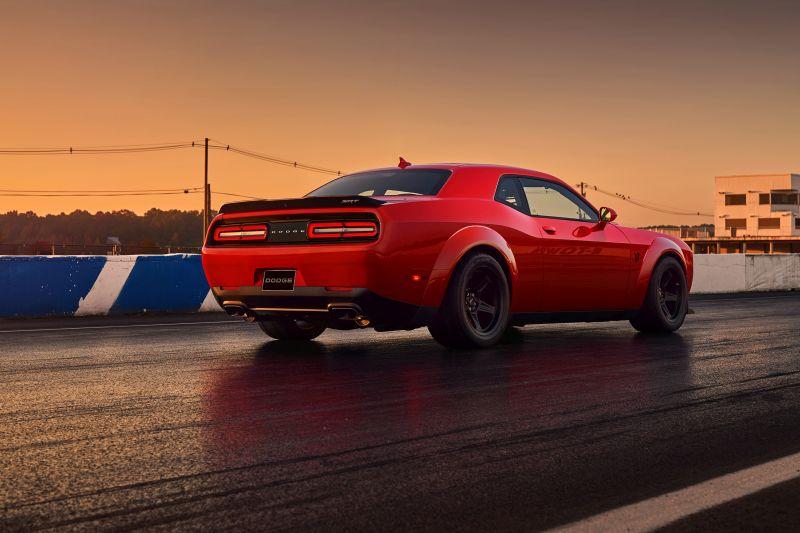 Novo Dodge Challenger Demon - Foto: Divulgação - Foto: Divulgação/Garagem 360/ND