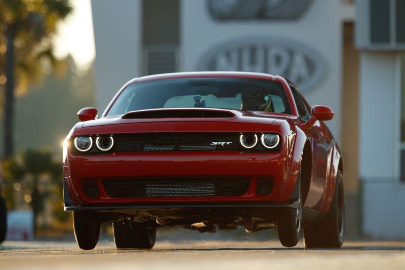 Novo Dodge Challenger Demon: a versão limitada do muscle car produz 851 cv - Foto: Divulgação - Foto: Divulgação/Garagem 360/ND