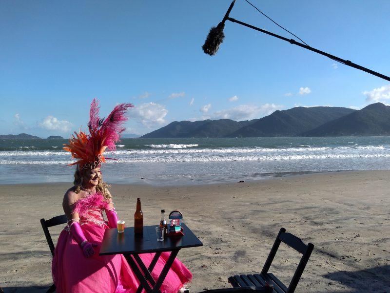 Amante do carnaval, Dinho agita os carnavais com desfile e concursos de fantasias no Pântano do Sul – Barbara Pettres/Divugação