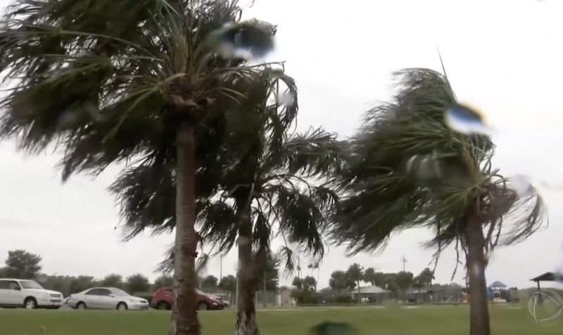 População da Flórida já sente os efeitos da tempestade que arrasou as Bahamas – Reprodução