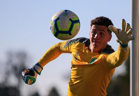 Tiepo atuou em todas as partidas da Chapecoense neste Brasileirão – Reprodução/Instagram