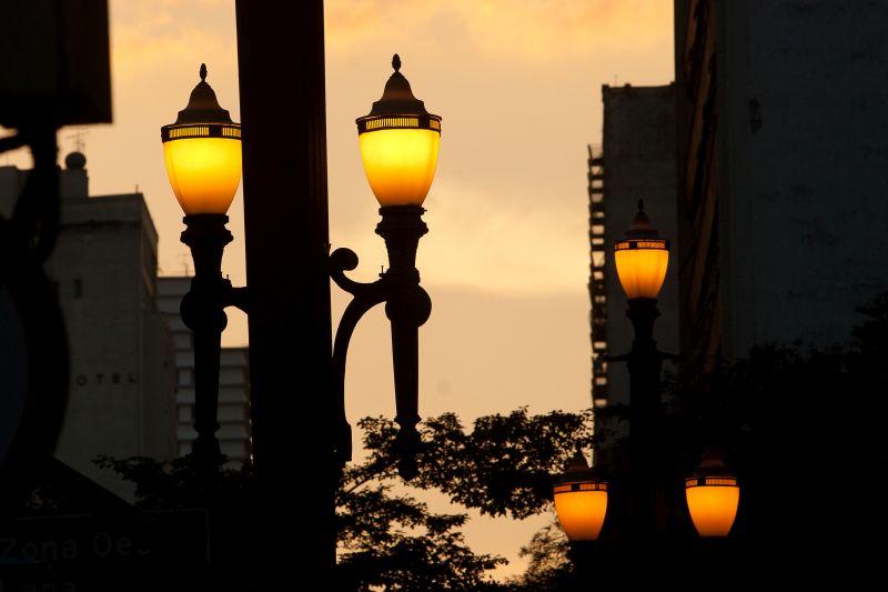 Os detalhes do Centro de São Paulo ficam ainda mais charmosos ao anoitecer - Priscilla Vilariño/SPTuris - Priscilla Vilariño/SPTuris/Rota de Férias/ND