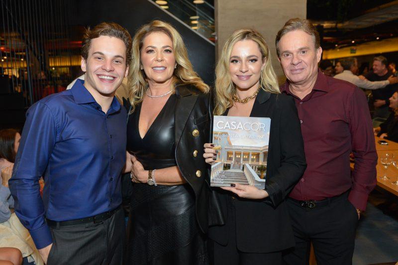Frederico Tonietto, Marisol Tonietto, Eduarda Tonietto e Paulo Tonietto – Foto – Carlos Alves