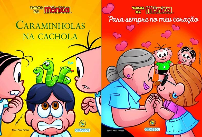 Livros estarão à venda por R$ 24,90 cada título – Girassol Brasil Edições/Mauricio de Sousa Produções
