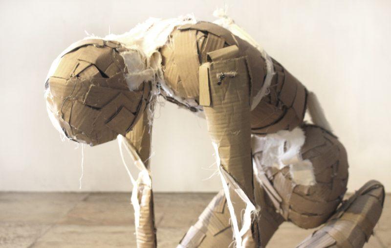 """Instalação """"Fardo"""", de Diego de Los Campos – Divulgação/ND"""