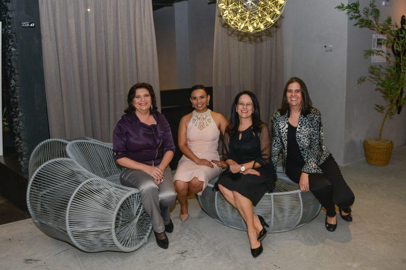 Rosa Maria, Valquiria Mendes da Silva, Silvya Caprário e Heloisa regis – Foto – CarlosAlves