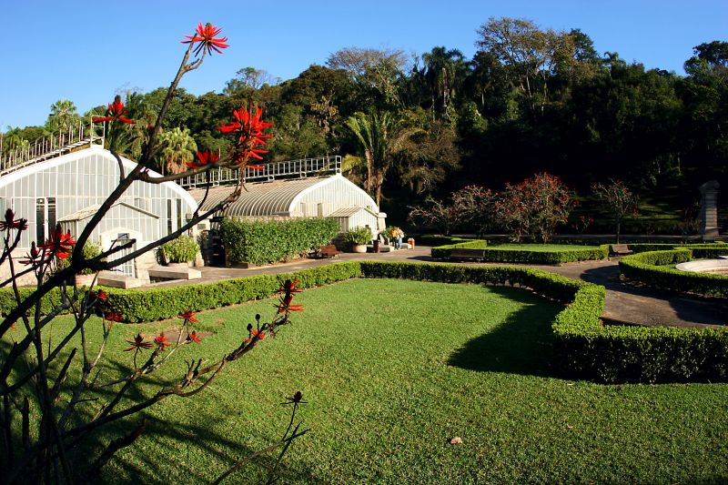 O Jardim Botânico abriga 380 espécies de árvores, que são usadas para estudos. Também é fácil ver animais por lá, principalmente pássaros - Caio Pimenta/SPTuris - Caio Pimenta/SPTuris/Rota de Férias/ND