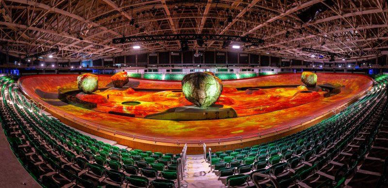 O Espaço Nave, que ocupará o velódromo na Cidade do Rock, dará as boas-vindas ao público na entrada do evento – GabrielQuintao.com/DivulgaçãoND