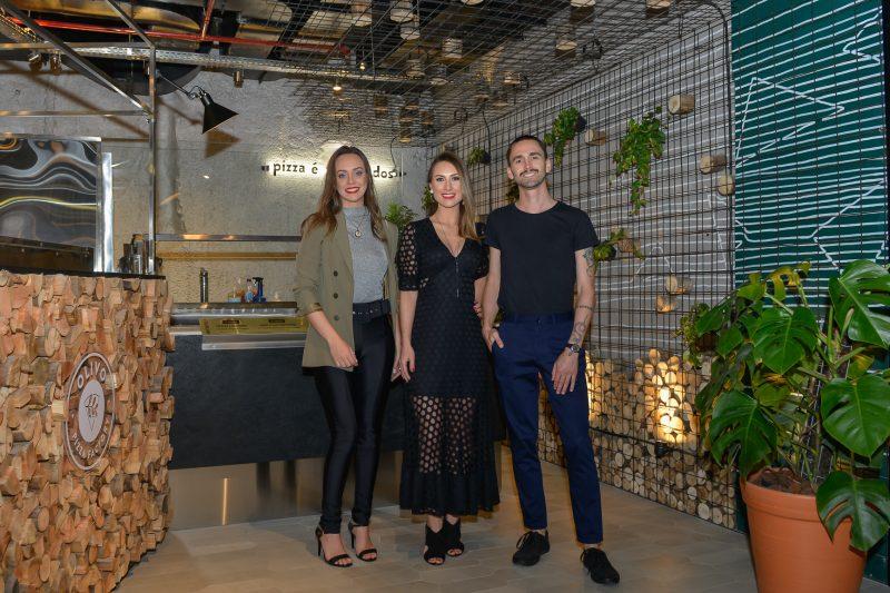 Sandra Coral, Julia Zanette e Rodrigo Gheller – Foto – Carlos Alves