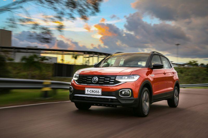 Volkswagen T-Cross no México: modelo vai começar a ser exportado este mês - Divulgação