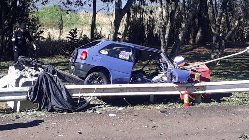 Piloto morreu durante evento automobilístico em Chapecó – Rodrigo Gonçalves/RICTV
