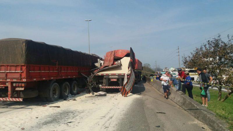 Vítima foi atendida no local com ferimentos leves- Divulgação/ND