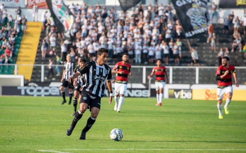 Figueirense x Sport, pela 22ª rodada da Série B. – Matheus Dias/FFC/divulgação