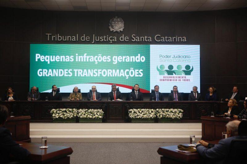 Ministro do STF e relator da Lava Jato no Supremo, Fachin esteve no TJSC – Flávio Tin/ND