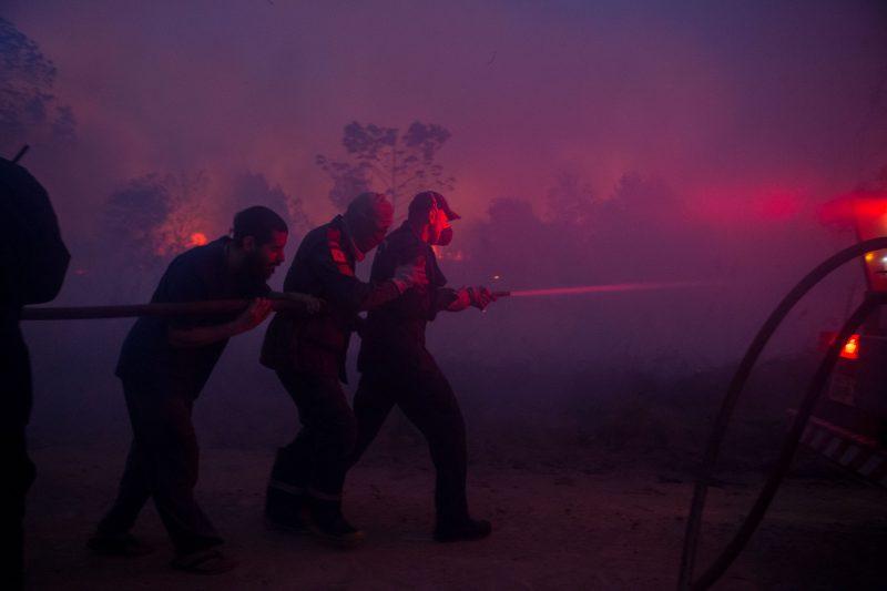 Primeiro foco de incêndio começou na terça-feira (10) de manhã – Flavio Tin/ND