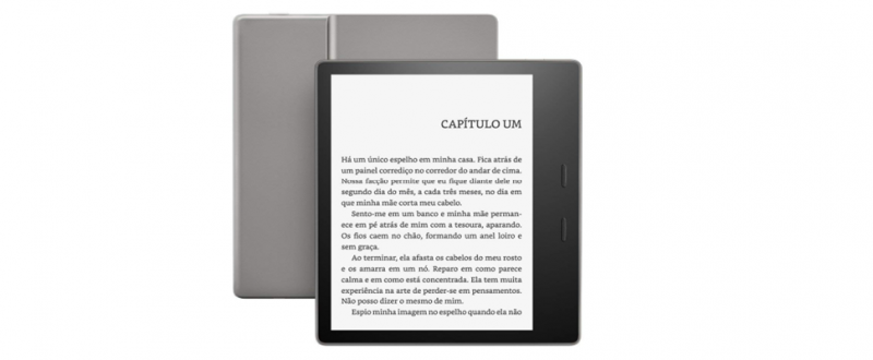 Testamos: Novo Kindle Oasis oferece mais conforto aos leitores pela bagatela de R$ 1.149 - Divulgação