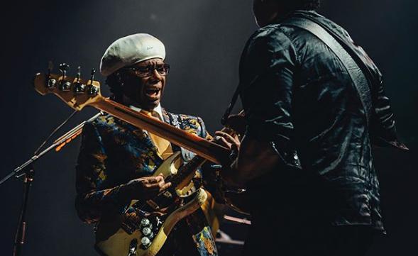 Nile Rodgers & Chic (3/10) O guitarrista lendário fará show no Rock in Rio no Palco Mundo - Reprodução/Instagram