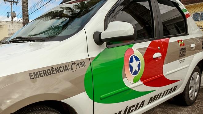 Tentativa de homicídio aconteceu no bairro Brejaru, em Palhoça – Rosane Lima/Arquivo/ND