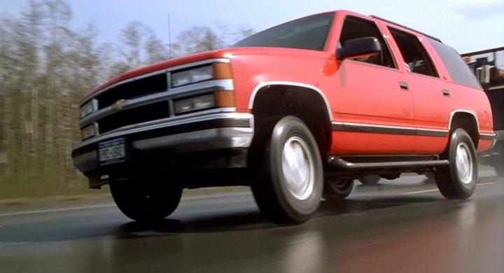E o Chevrolet Tahoe (1996) também marcou presença em Premonição 2 - Crédito: Reprodução/IMCDB - Crédito: Reprodução/IMCDB/Garagem 360/ND