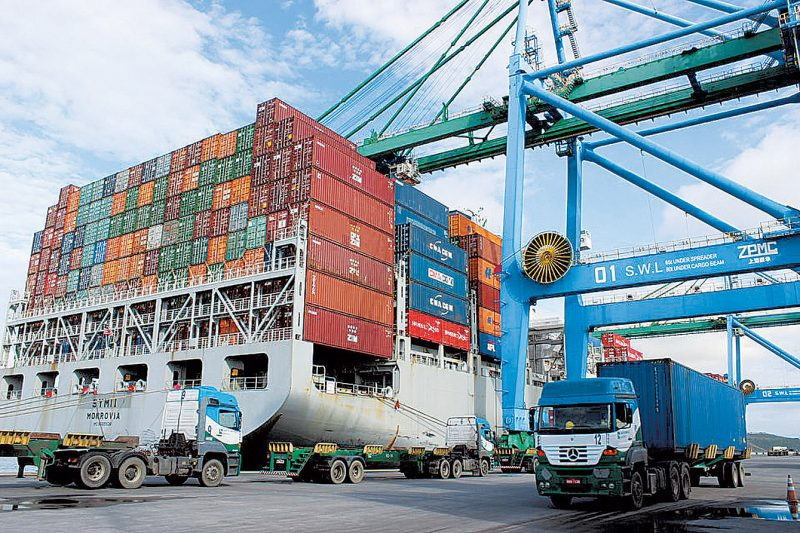 Porto de Imbituba é administrado pela SC Par – Foto: DIvulgação Porto de Imbituba/ND