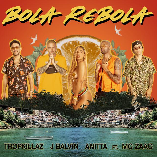 10. Bola Rebola – Anitta, J Balvin, Mc Zaac, Tropkillaz: https://spoti.fi/2MeNzOR - Crédito: Reprodução Spotify/33Giga/ND