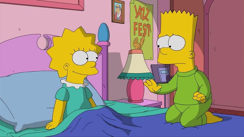 11. Bart e Lisa Simpson - Crédito: Divulgação/33Giga/ND