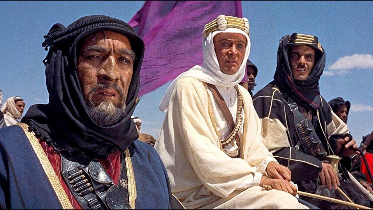 1963 – Lawrence da Arábia - Crédito: Divulgação/33Giga/ND