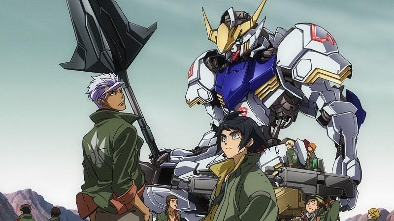01/11 – Mobile Suit Gundam: Iron-Blooded Orphans (Temporadas 1 e 2) - Crédito: Divulgação/33Giga/ND