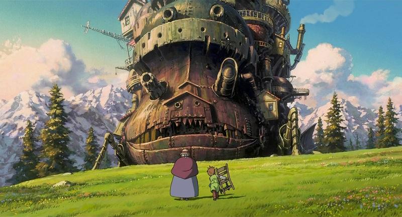 O Castelo Animado (2004) - Crédito: Divulgação/33Giga/ND