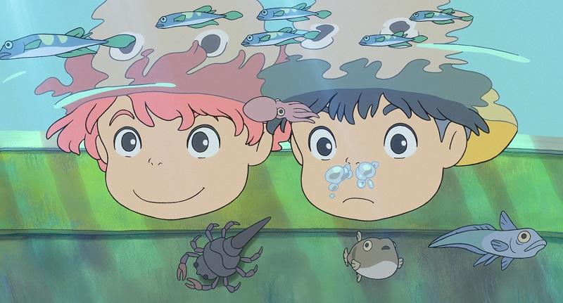 Ponyo: Uma Amizade que Veio do Mar (2008) - Crédito: Divulgação/33Giga/ND