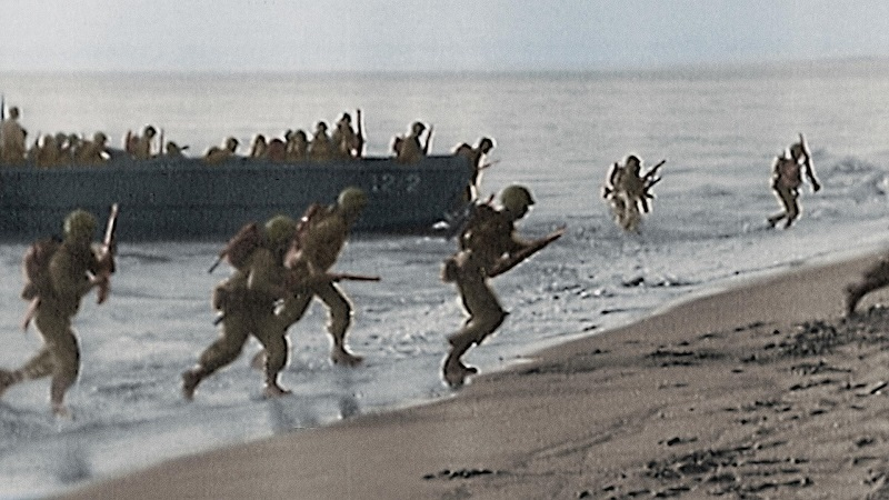 08/11 – Grandes Momentos da Segunda Guerra em Cores (1ª Temporada) - Crédito: Divulgação/33Giga/ND