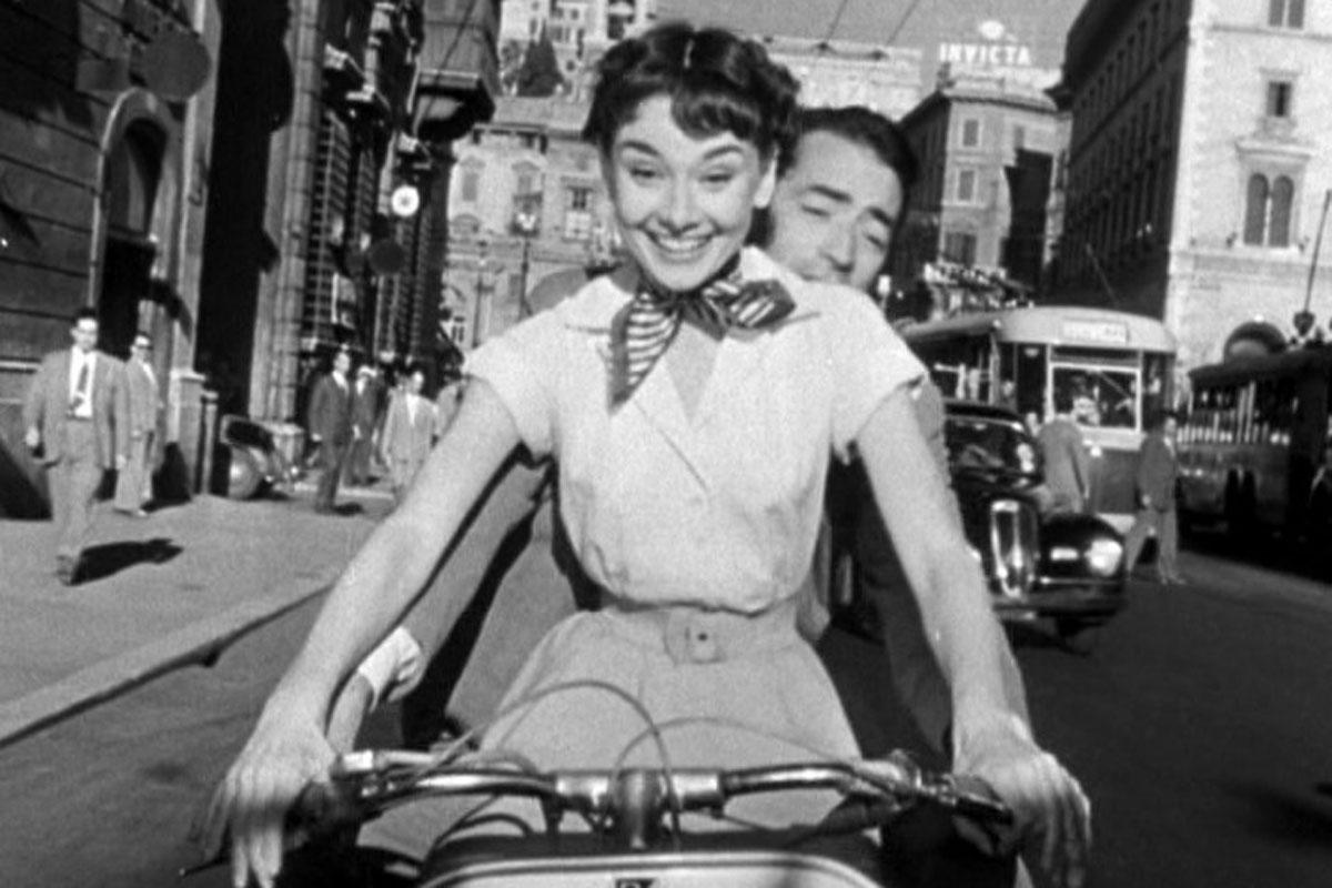 1954 – Audrey Hepburn (A Princesa e o Plebeu) - Crédito: Divulgação/33Giga/ND