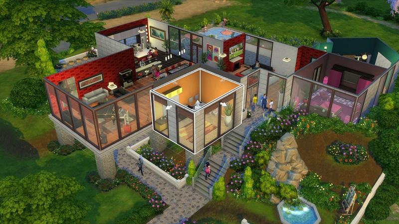 The Sims 4, de R$ 158,99 por R$ 63,59 – http://bit.ly/2ncyghd - Crédito: Divulgação/33Giga/ND