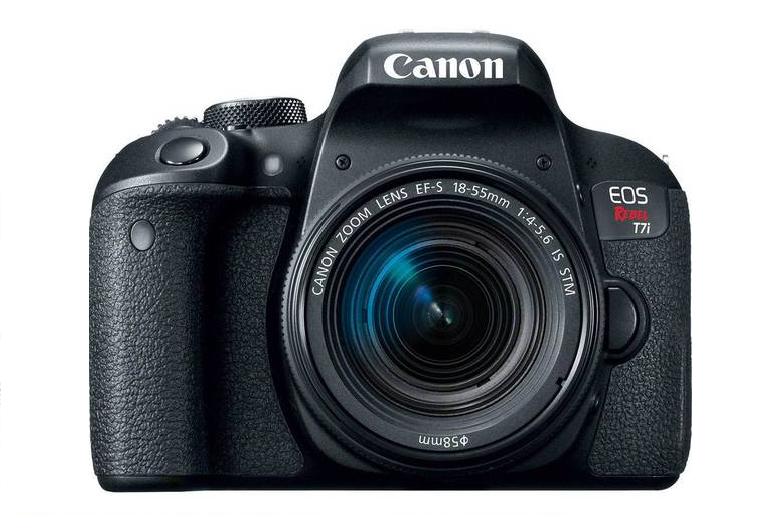 3 Canon EOS Rebel T7i de 24,2 Megapixels - Foto: Divulgação/33Giga/ND