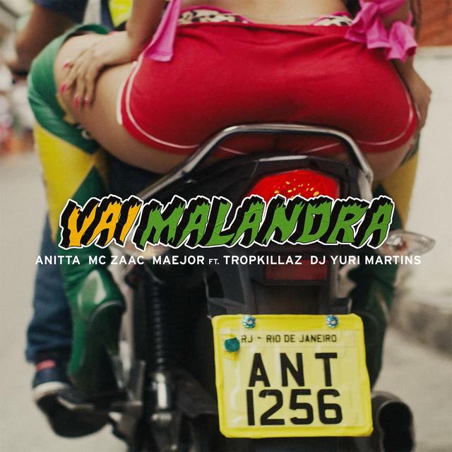 3. Vai Malandra – Anitta, DJ Yuri Martins, Maejor, Mc Zaac, Tropkillaz: https://spoti.fi/2pNaiu9 - Crédito: Reprodução Spotify/33Giga/ND